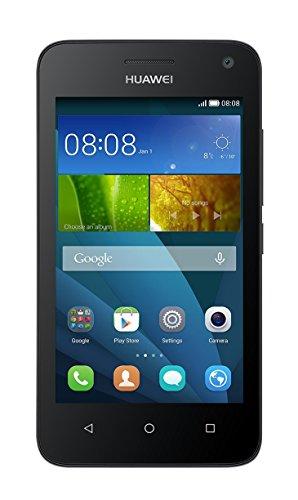 Huawei Y3 Smartphone (4 Zoll) IPS-Display, 1,3 GHz-Quad-Core-Prozessor, 5 Megapixel-Kamera, 4 GB interner Speicher, Android 4.4) schwarz