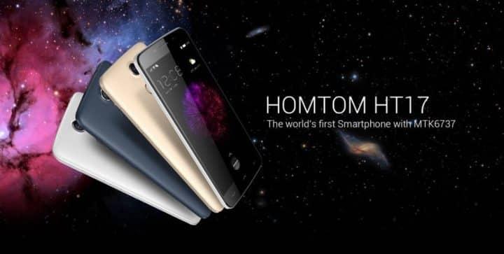Homtom Ht17 Kaufen Quad Core Smartphone Für 52 Euro Voondo